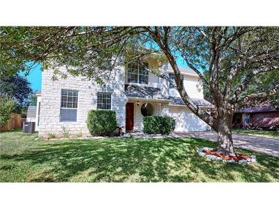Round Rock Single Family Home For Sale: 2312 Willow Way