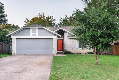 Cedar Park Single Family Home Pending - Taking Backups: 3008 Birch Dr