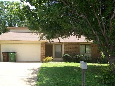 Round Rock Single Family Home For Sale: 2208 Stratford Dr