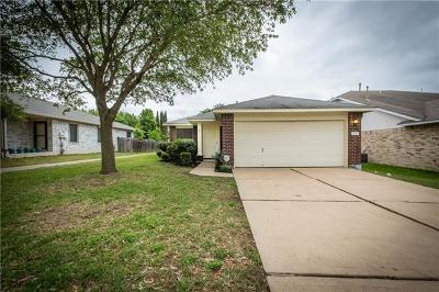 Pflugerville Single Family Home For Sale: 1217 Vincent Pl