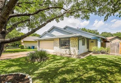 Austin Single Family Home For Sale: 13019 Garfield Ln