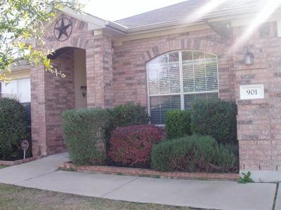 Pflugerville Rental For Rent: 901 Old Wick Castle Way