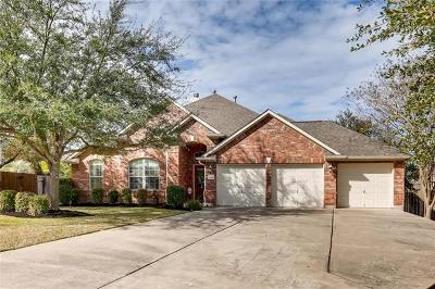 Round Rock Single Family Home For Sale: 4005 Mirador Cv
