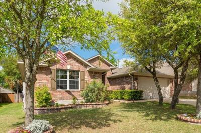 Leander Single Family Home Pending - Taking Backups: 2505 Stagecoach Bnd