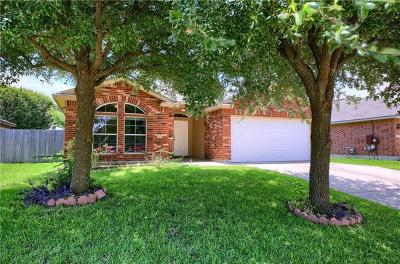 Round Rock Single Family Home For Sale: 2152 Pearson Way