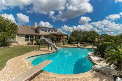 Dripping Springs TX Single Family Home For Sale: $1,175,000