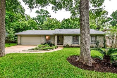 Round Rock Single Family Home For Sale: 603 S Lake Creek Dr