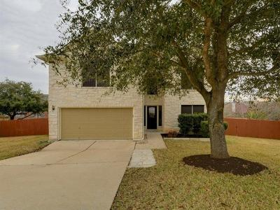 Round Rock Single Family Home Pending - Taking Backups: 2134 Faldo Ln