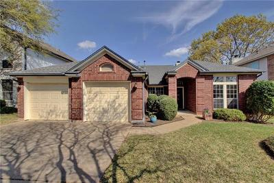 Round Rock Single Family Home For Sale: 2310 Falcon Dr