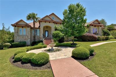 Lakeway Single Family Home For Sale: 308 Bella Montagna Cir