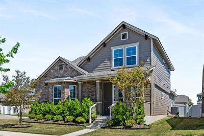 Pflugerville Single Family Home For Sale: 1110 Fossil Beds Dr