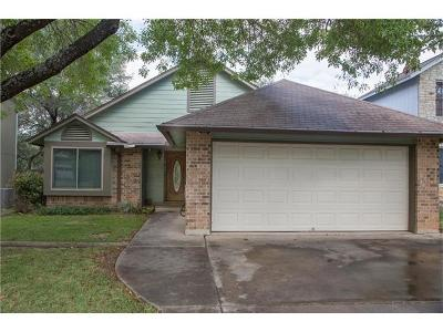 Austin Single Family Home For Sale: 8105 Cache Dr