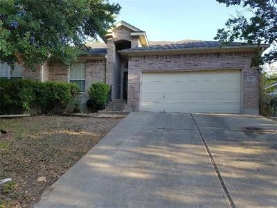 Round Rock Single Family Home For Sale: 2321 Chestnut Path