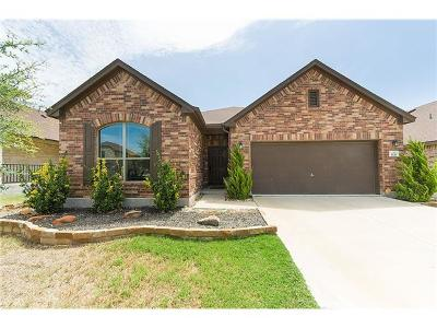 Round Rock Single Family Home For Sale: 1121 Renaissance Trl