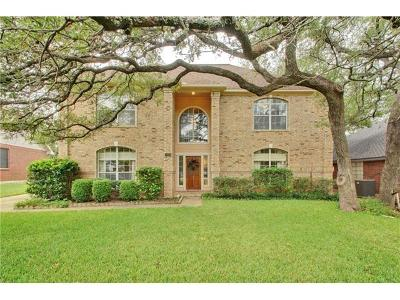 Round Rock Single Family Home For Sale: 1109 Quail Ln