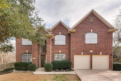 Hays County, Travis County, Williamson County Single Family Home Pending - Taking Backups: 2605 Dante Ct