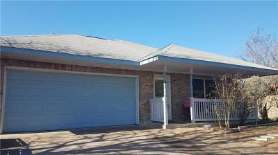 Leander Single Family Home For Sale: 825 Coyote Ln