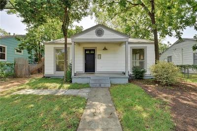 Travis County Single Family Home Pending - Taking Backups: 5307 Avenue F #A