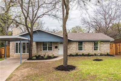 Single Family Home For Sale: 2504 Friar Tuck Ln