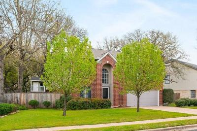 Cedar Park Single Family Home For Sale: 2611 Buckeye Trl
