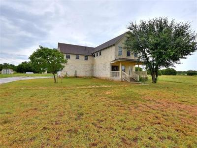 Leander Single Family Home For Sale: 14 Warfield
