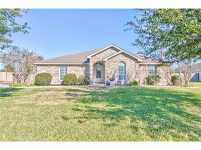 Hutto Single Family Home Pending - Taking Backups: 115 Guadalupe Dr