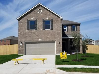 Manor Single Family Home For Sale: 13908 Camp David
