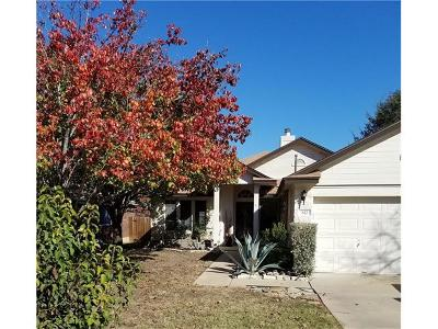 Leander Single Family Home For Sale: 612 Millcreek Ln