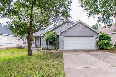 Leander Single Family Home For Sale: 1606 Parkwood Dr