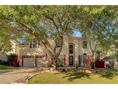 Cedar Park Single Family Home Pending - Taking Backups: 1415 Spiderlily Vw