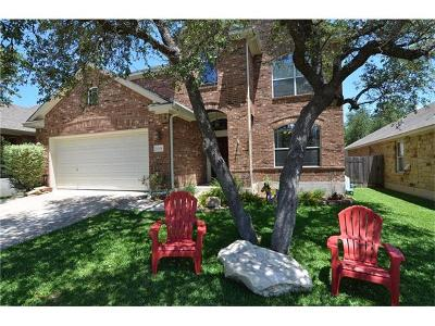 Cedar Park Single Family Home Active Contingent: 2709 Checker Dr