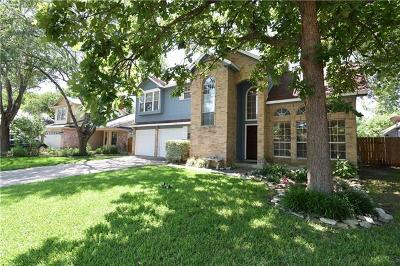 Round Rock  Single Family Home For Sale: 503 Maple Run