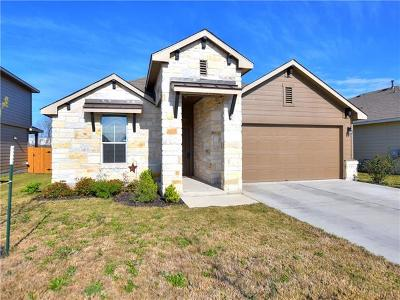 Pflugerville Single Family Home Pending - Taking Backups: 13404 Bauhaus Bnd