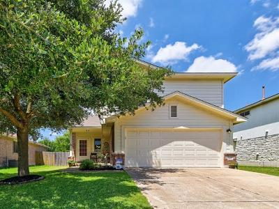 Leander Single Family Home For Sale: 2607 Greenlee Dr