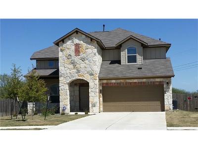 Buda Single Family Home For Sale: 566 Eagle Brook Ln