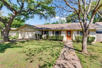 Single Family Home For Sale: 1909 Barton Hills Dr