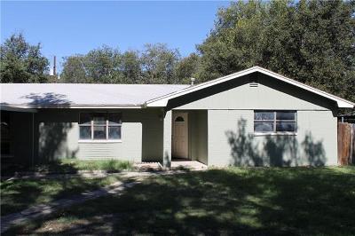 Lampasas Single Family Home For Sale: 1107 E. Ave. H