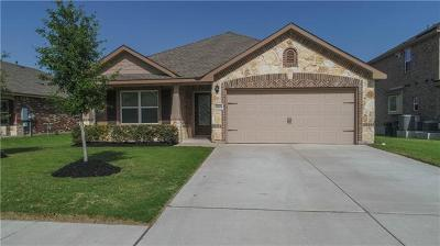 Round Rock Single Family Home For Sale: 8505 Rimini Cv