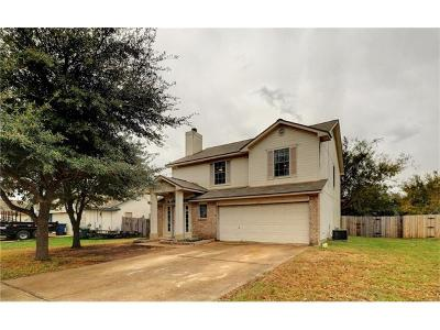 Leander Single Family Home For Sale: 603 Sparkling Brook Ln
