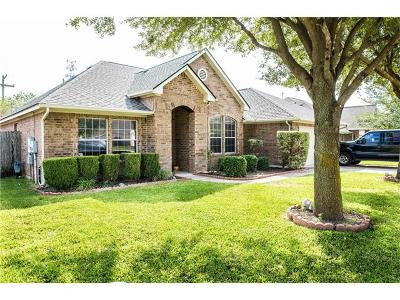 Pflugerville Single Family Home For Sale: 505 Stansted Manor Dr