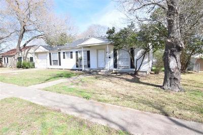 Temple Single Family Home For Sale: 1409 N 4th St