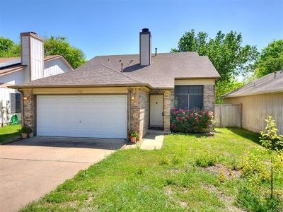 Austin Single Family Home Pending - Taking Backups: 12321 Little Emily Way