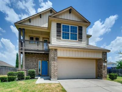 Hutto Single Family Home Pending - Taking Backups: 232 Wells Bnd