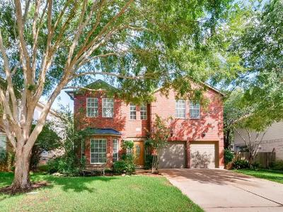 Round Rock Single Family Home For Sale: 3943 Grayling Ln