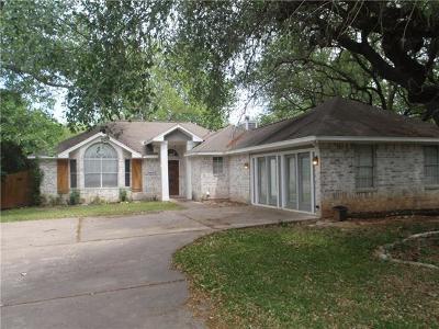 Cedar Park TX Single Family Home For Sale: $257,500