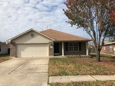 Cedar Park Single Family Home For Sale: 2209 Clover Ln