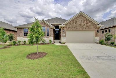 Pflugerville Single Family Home For Sale: 3820 Nightjar View Ter