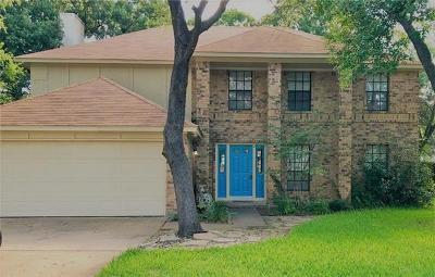 Cedar Park Single Family Home For Sale: 408 Cedar Mound Pass