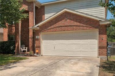 Cedar Park Single Family Home For Sale: 2110 Kane Cv