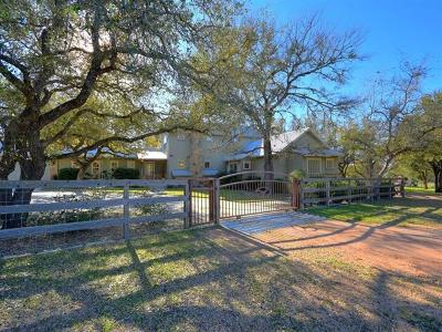 Wimberley Single Family Home Pending - Taking Backups: 2300 Windmill Run